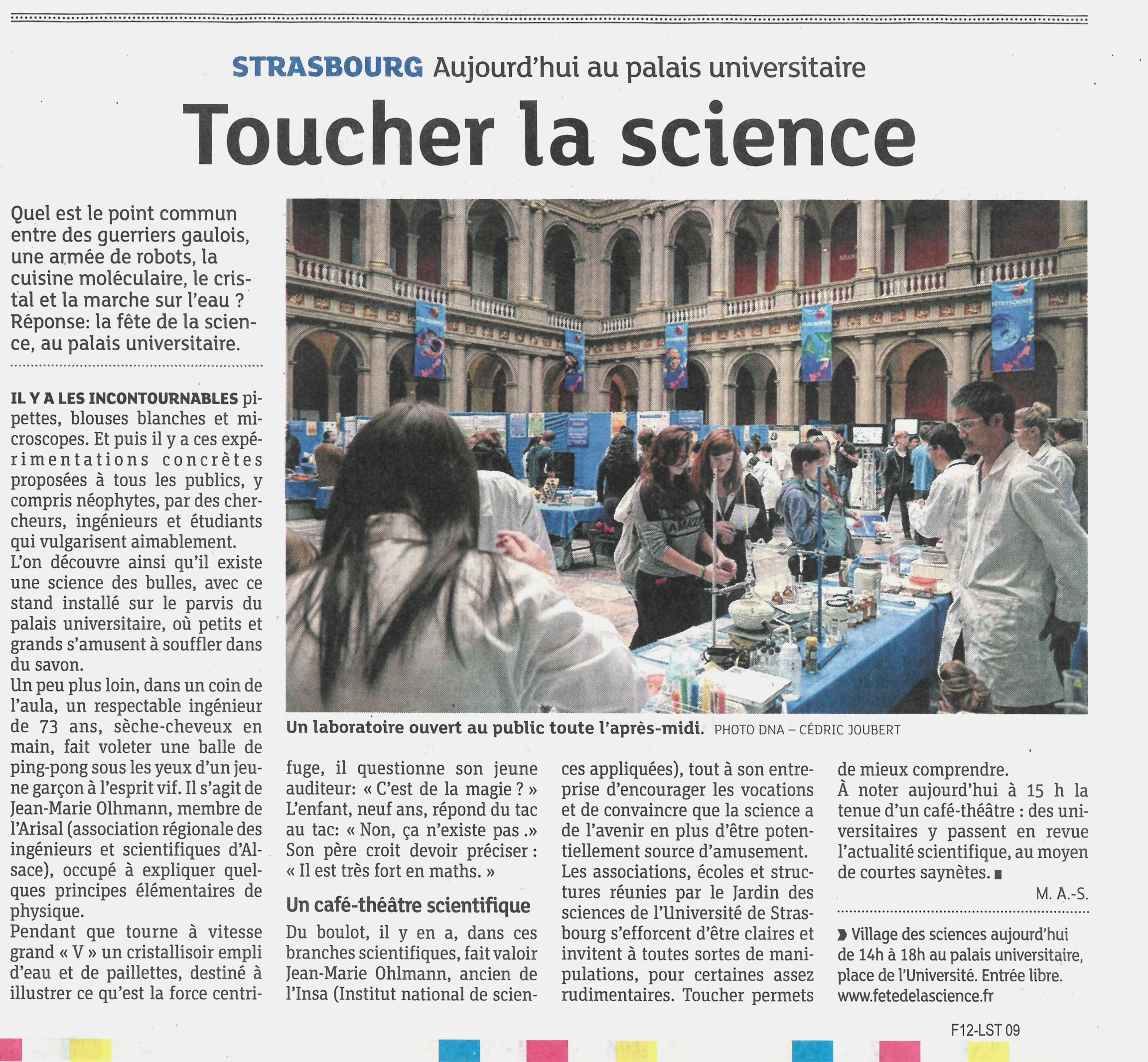 fete de la science DNA 19102014